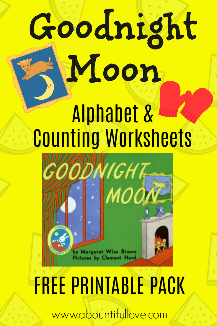 Goodnight Moon Free Printable Pack | Kids Worksheets | Good Night | Goodnight Moon Printable Worksheets