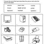Grade 1 Worksheets For Children Learning Exercise | Summmer Vacation | Free Printable Computer Keyboarding Worksheets