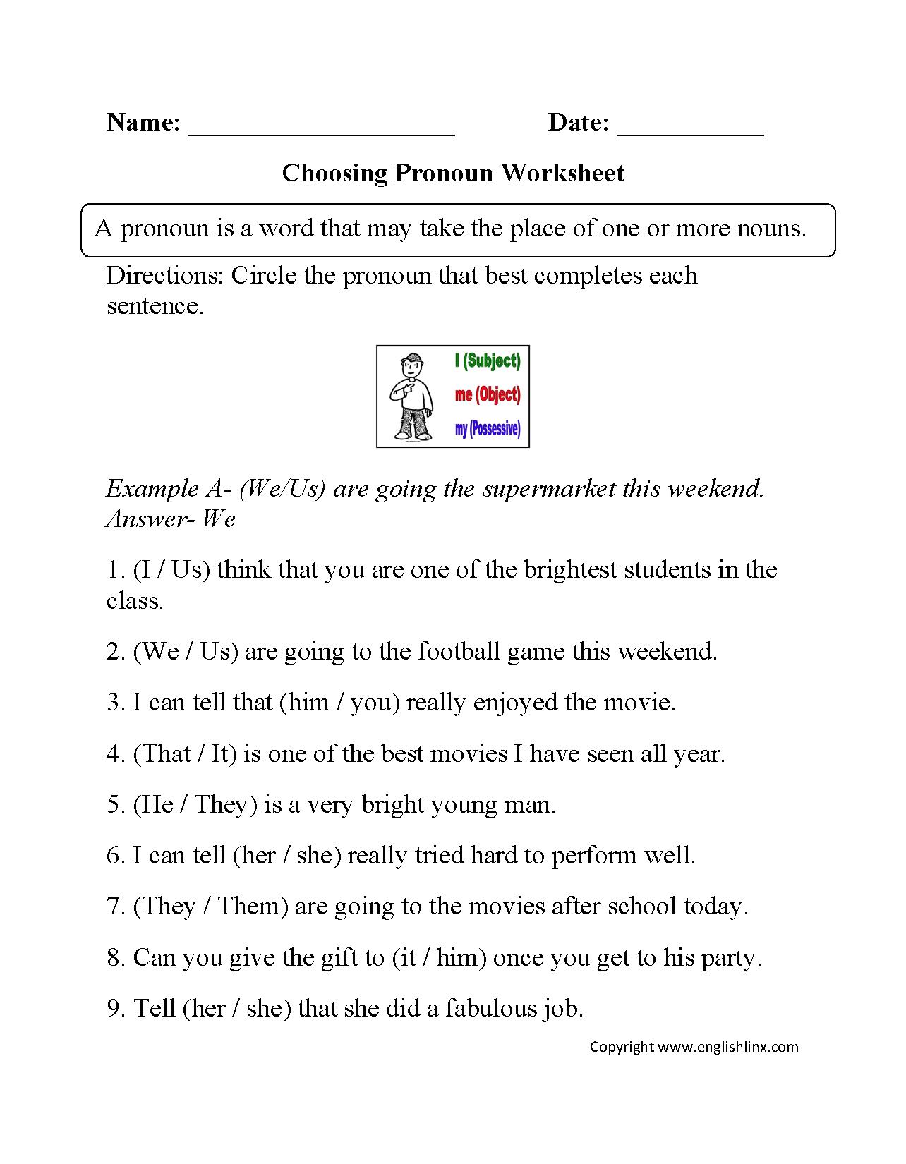 Grammar Worksheets | Parts Of Speech Worksheets - Free Printable | Free Printable Parts Of Speech Worksheets