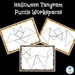 Halloween Themed Printable Tangram Puzzles – Jdaniel4S Mom | Printable Tangram Worksheets