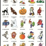 Halloween Vocabulaire | Education | Halloween Vocabulary, French | Free Printable French Halloween Worksheets