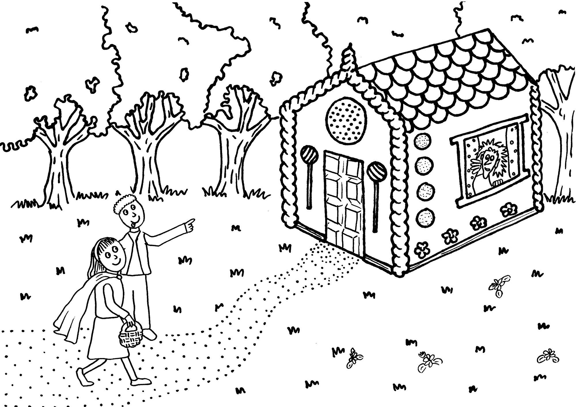 Hansel And Gretel Worksheets Cute | Kiddo Shelter | Hansel And Gretel Printable Worksheets