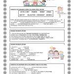 Health And Fitness Worksheet   Free Esl Printable Worksheets Made | Free Printable Fitness Worksheets