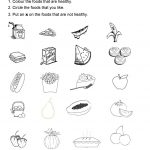 Healthy Foods   Projects To Try   Healthy Meals For Kids, Kids   Free Printable Healthy Eating Worksheets