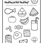 Healthy Or Not Worksheets.001   Ot Life   Kindergarten Worksheets   Free Printable Healthy Eating Worksheets