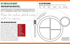 Choose My Plate Printable Worksheets