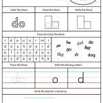 High Frequency Word Do Printable Worksheet | Myteachingstation | Printable Sight Word Worksheets