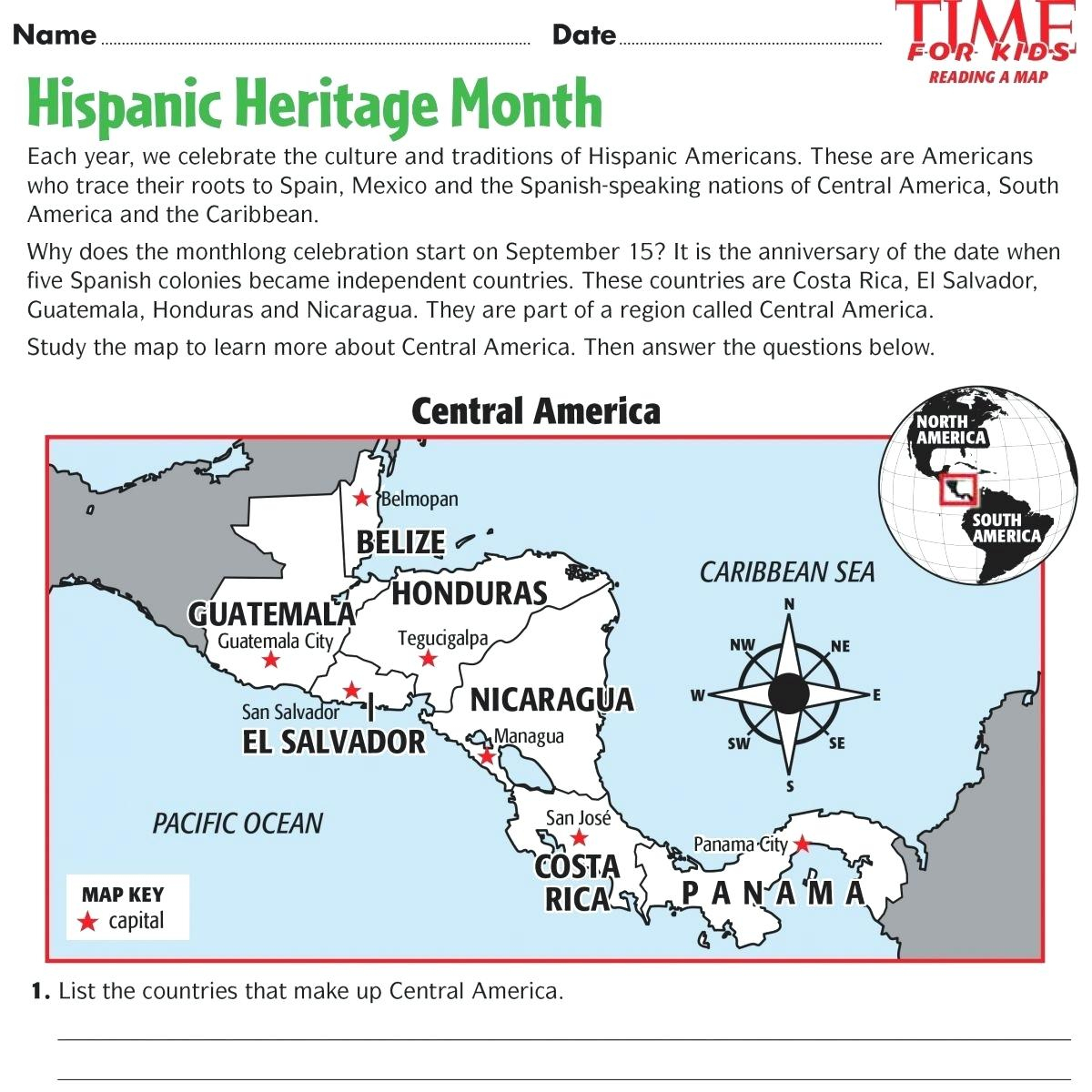 Hispanic Heritage Month Worksheets Heritage Month Poster Hispanic | Hispanic Heritage Month Printable Worksheets