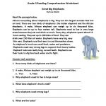 Homework Sheets Grade 3 Reading   Learning Printable   Reading   Printable Comprehension Worksheets For Grade 3