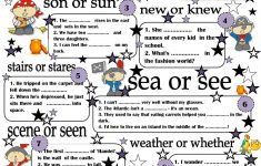 Printable Worksheets Esl Students