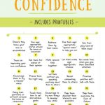 How To Increase Kids Self Confidence   Optimistic Spark   Self Esteem Printable Worksheets For Kids