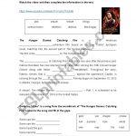 Hunger Games: Catching Fire   Esl Worksheetanabelita   Hunger Games Free Printable Worksheets