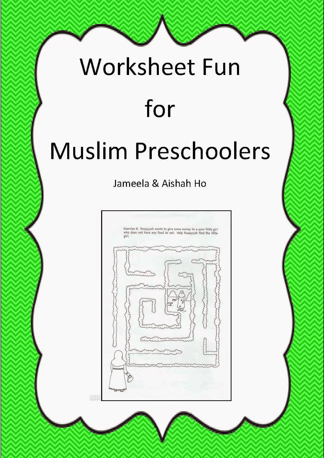 Ilma Education: Free Download: Worksheet Fun For Muslim Preschoolers | Islamic Printable Worksheets