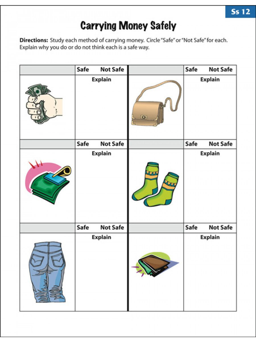 Image Result For Independent Living Skills Worksheets Free | Free Printable Life Skills Worksheets