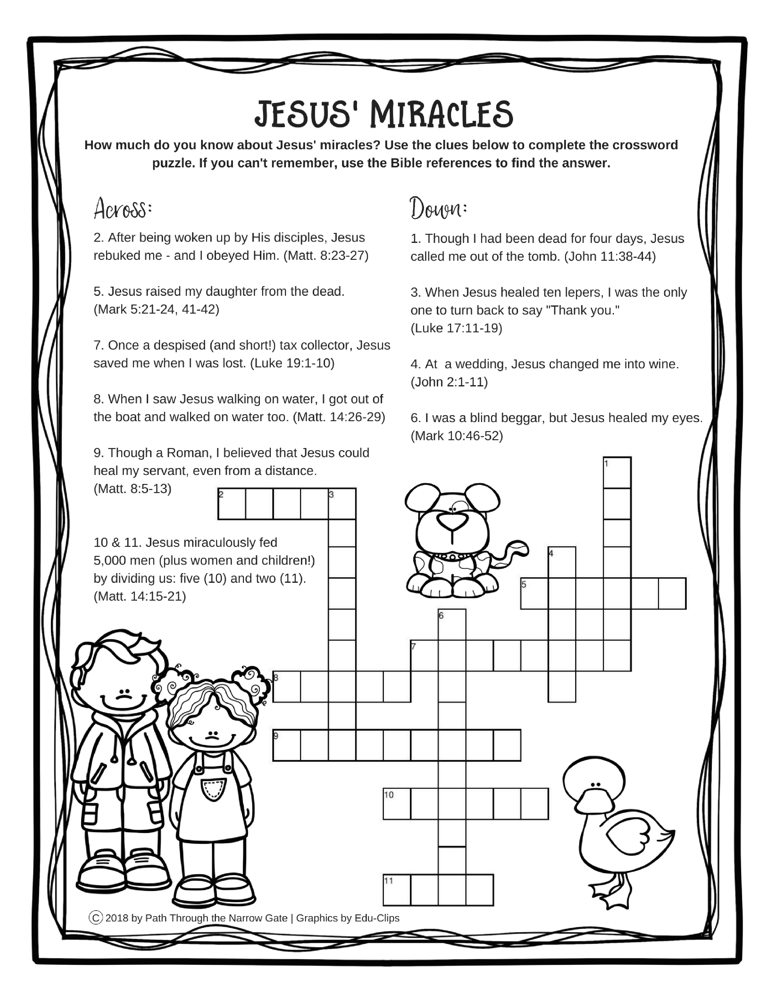 Image Result For Worksheet Miracles Of Jesus | Psw & Bible | Printable Worksheets Miracles Jesus