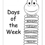 Insects Worksheets Free | Days Of The Week – Trace And Write – Free | Free Printable Worm Worksheets