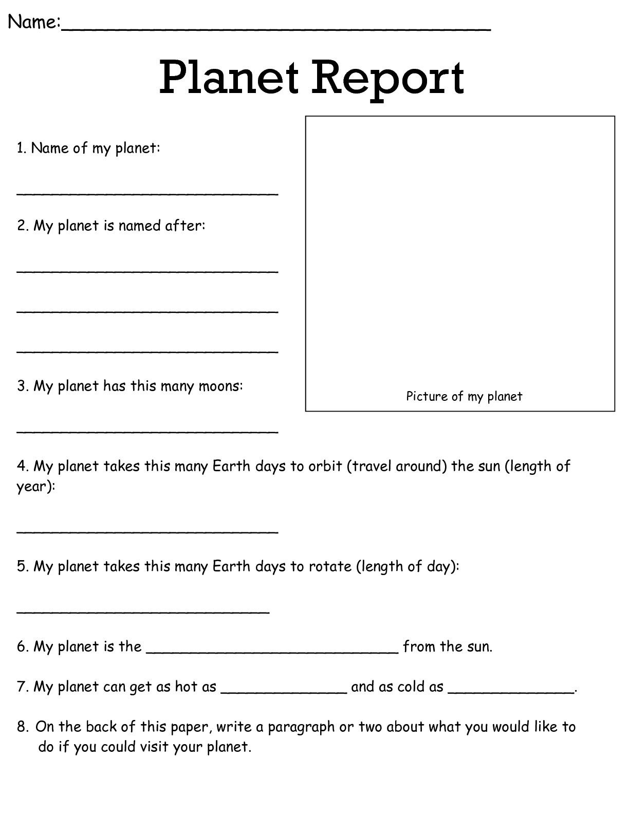 Job Worksheets 5Th &6Th | Science Worksheets Science Worksheets | 6Th Grade Writing Worksheets Printable Free