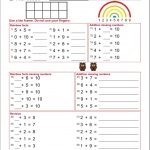 Kids : Multiplication Facts Worksheets From The Teachers Guide | Rainbow Facts Worksheets Printable