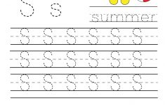 Kindergarten Worksheets Printable Writing
