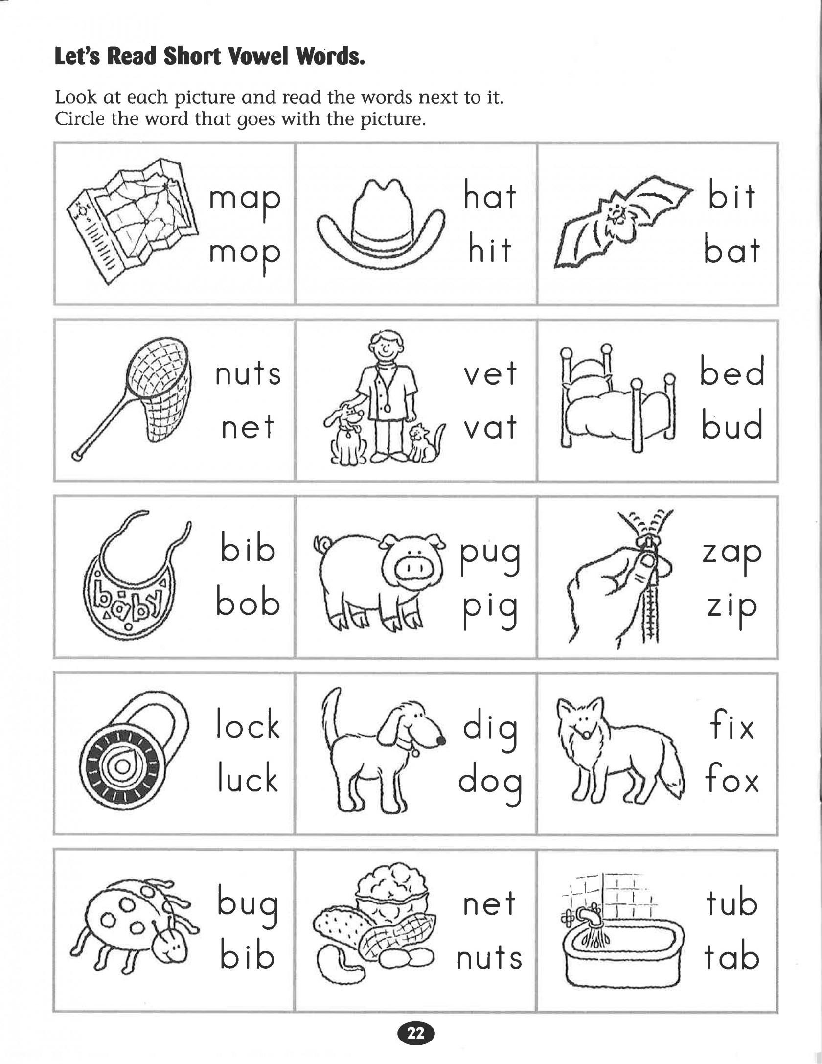 Kindergarten Phonics Worksheets Inspirational Kindergarten Free | Free Printable Grade 1 Phonics Worksheets