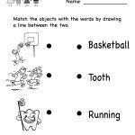 Kindergarten Reading Worksheet For Kids Printable | Worksheets | Kindergarten Reading Printable Worksheets