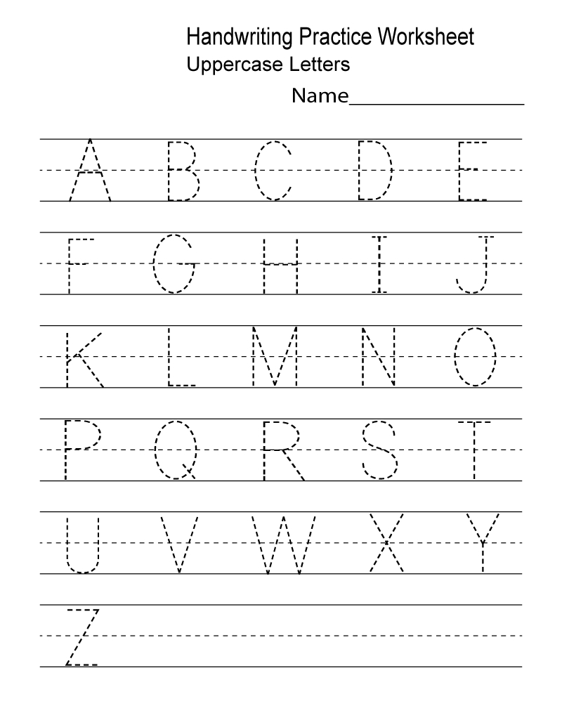 Kindergarten Worksheets Pdf Free Download Handwriting | Learning | Free Printable Kindergarten Worksheets Pdf