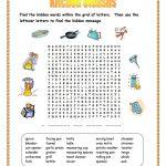 Kitchen Utensils Wordsearch Worksheet   Free Esl Printable | Kitchen Utensils Printable Worksheets