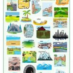Landscapes Picture Dictionary Worksheet   Free Esl Printable | Free Printable Landform Worksheets