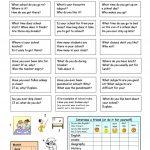 Let's Talk About School Worksheet   Free Esl Printable Worksheets | Printable Worksheets Esl Students