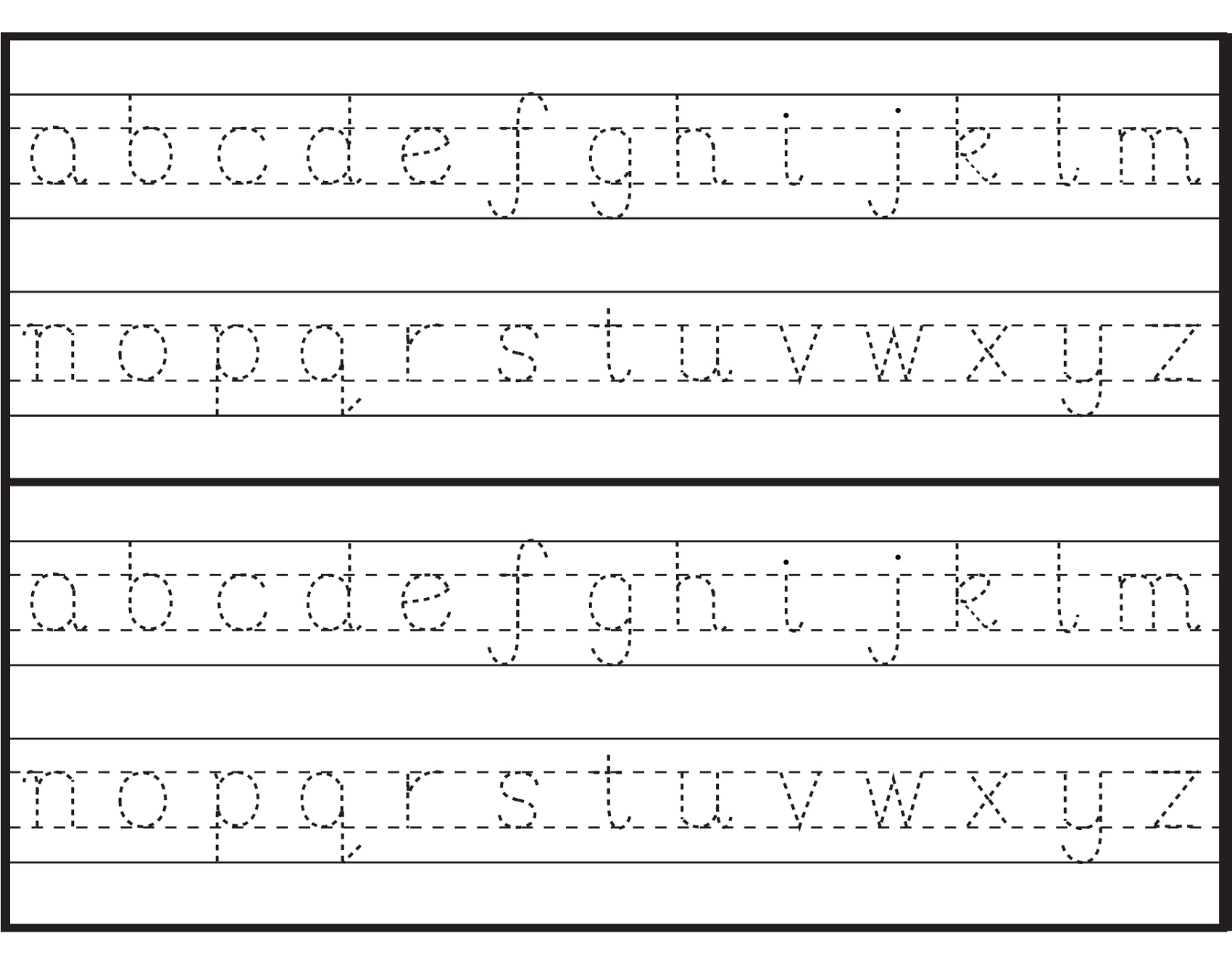 Letter Tracing Sheets Printable | Alphabet And Numbers Learning | Printable Printing Worksheets