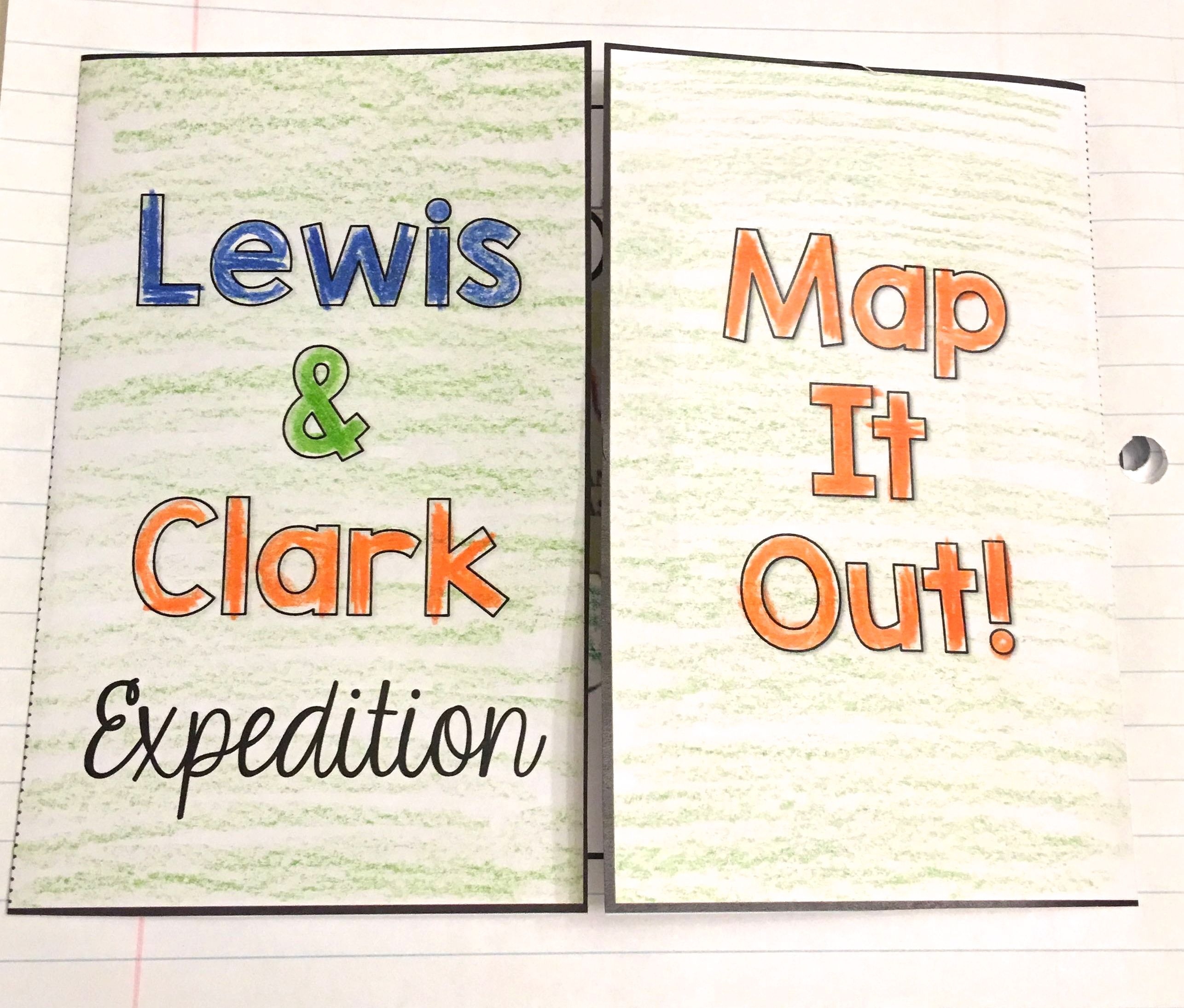 Lewis And Clark - Interactive Notebook & Mini Unit   Tpt Social   Lewis And Clark Printable Worksheets