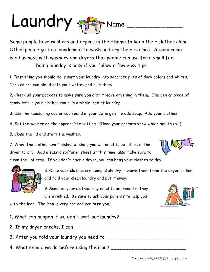 Life Skills Worksheets – Karyaqq.club - Free Printable Life Skills | Free Printable Life Skills Worksheets