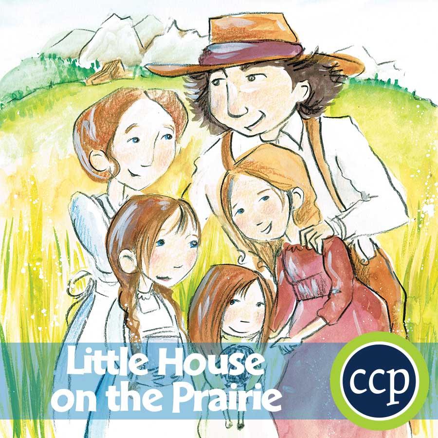 Little House On The Prairie - Novel Study Guide - Grades 3 To 4 | Little House On The Prairie Printable Worksheets