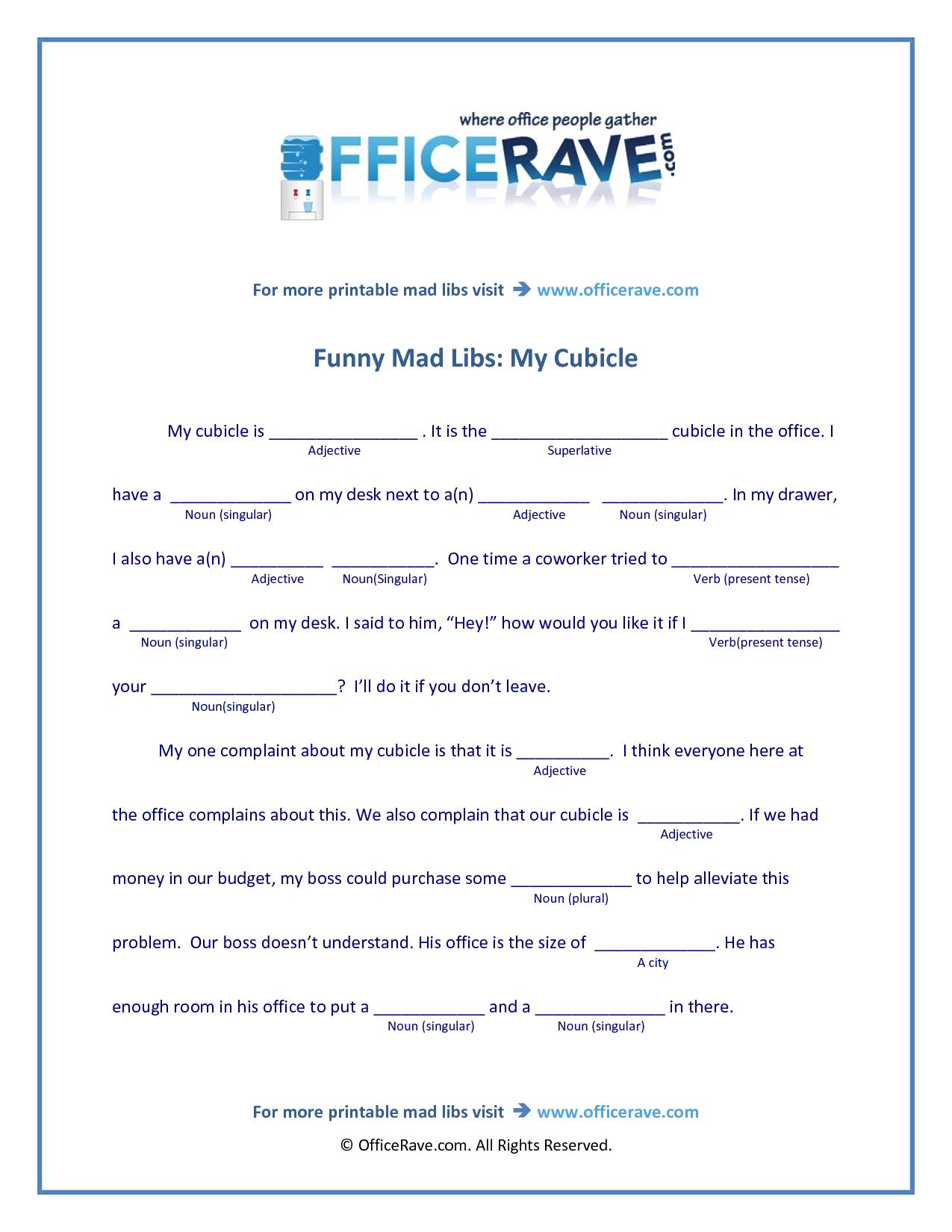 Mad Libs Printable | Free Printable Mad Libs | Funny | Baby Shower | Funny Mad Libs Printable Worksheets