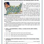 Martin Strel Swam The Amazon River Worksheet   Free Esl Printable | River Worksheets Printables