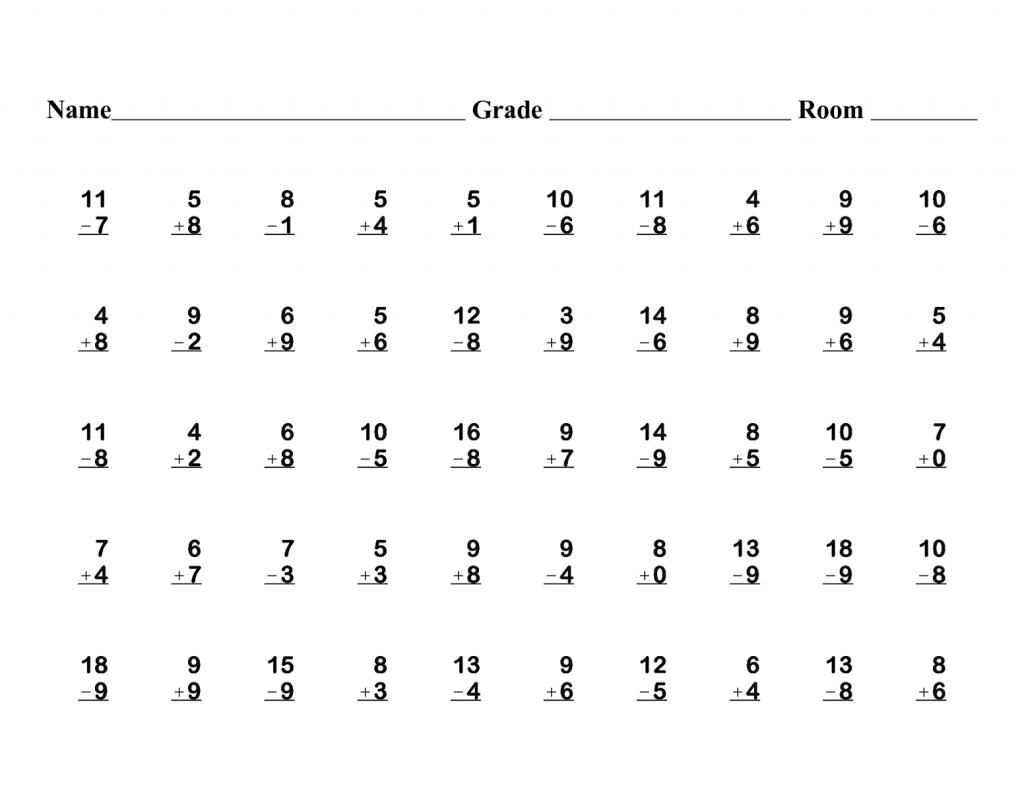 Math Worksheet: Free First Grade Math Worksheets. 3Rd Grade Math | First Grade Math Worksheets Printable