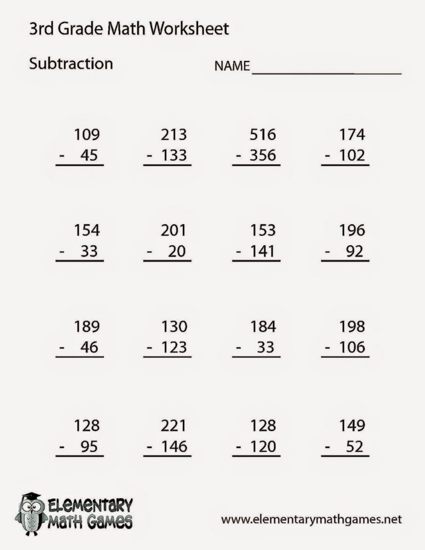 Math Worksheet: Math Book Grade Type In Problems Integer Puzzle | Math Problems Printable Worksheets
