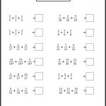 Maths Worksheets For Grade Cbse Practice Class Pdfth Word Problems   4Th Grade Equivalent Fractions Printable Worksheets