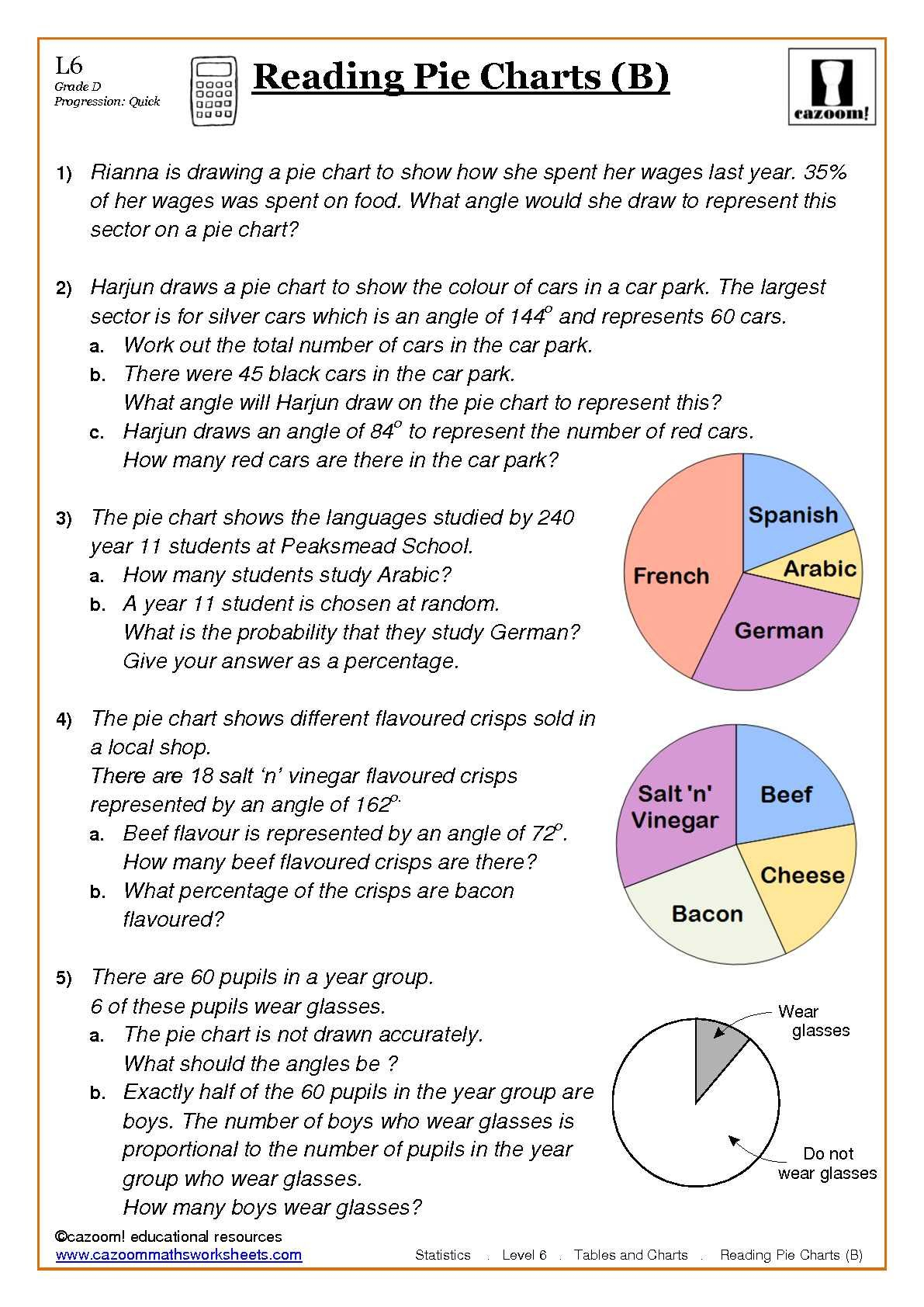 Maths Worksheets | Things To Wear | Math Worksheets, Worksheets For | Free Printable Statistics Worksheets