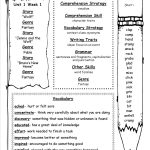 Mcgraw Hill Wonders Third Grade Resources And Printouts | Grade 3 Vocabulary Worksheets Printable
