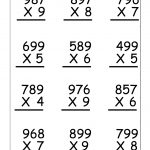 Multiplication Worksheets For 5Th Grade | Worksheetfun   Free | Free Printable Multiplication Worksheets For 5Th Grade