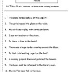 Nouns Worksheets And Printouts   Free Printable Pronoun Worksheets | Free Printable Pronoun Worksheets For 2Nd Grade
