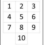 Numbers 1 Through 10 – Karis.sticken.co | Printable Worksheets For Preschoolers On Numbers 1 10