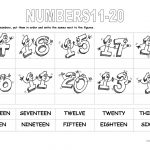 Numbers 11 20 Worksheet   Free Esl Printable Worksheets Madeteachers   French Numbers 1 20 Printable Worksheets
