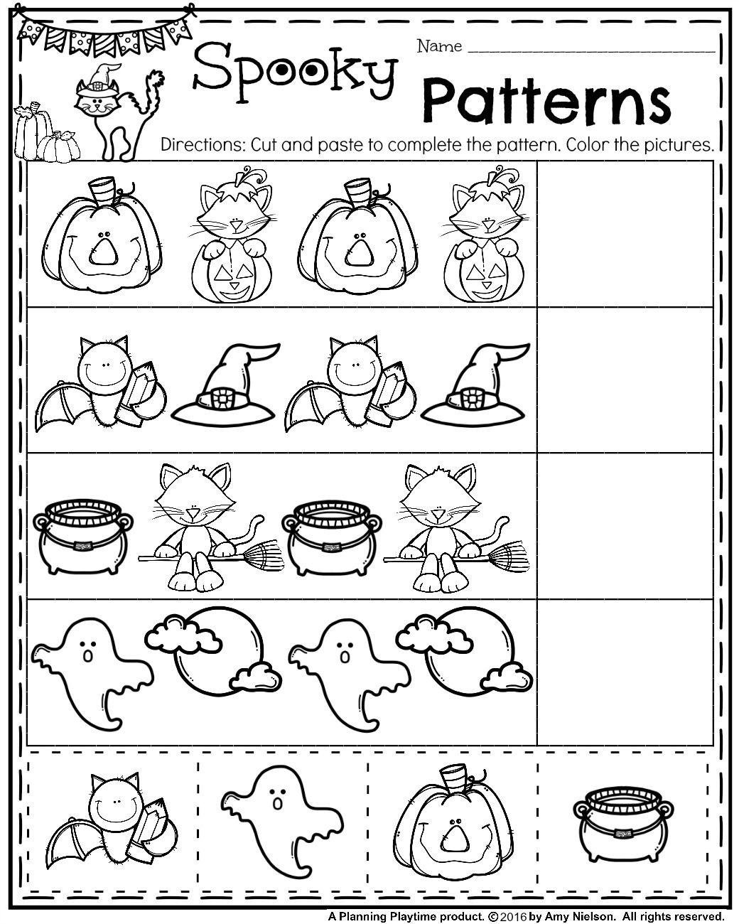 October Preschool Worksheets | Preschool Activities | Preschool | Preschool Halloween Worksheets Printables