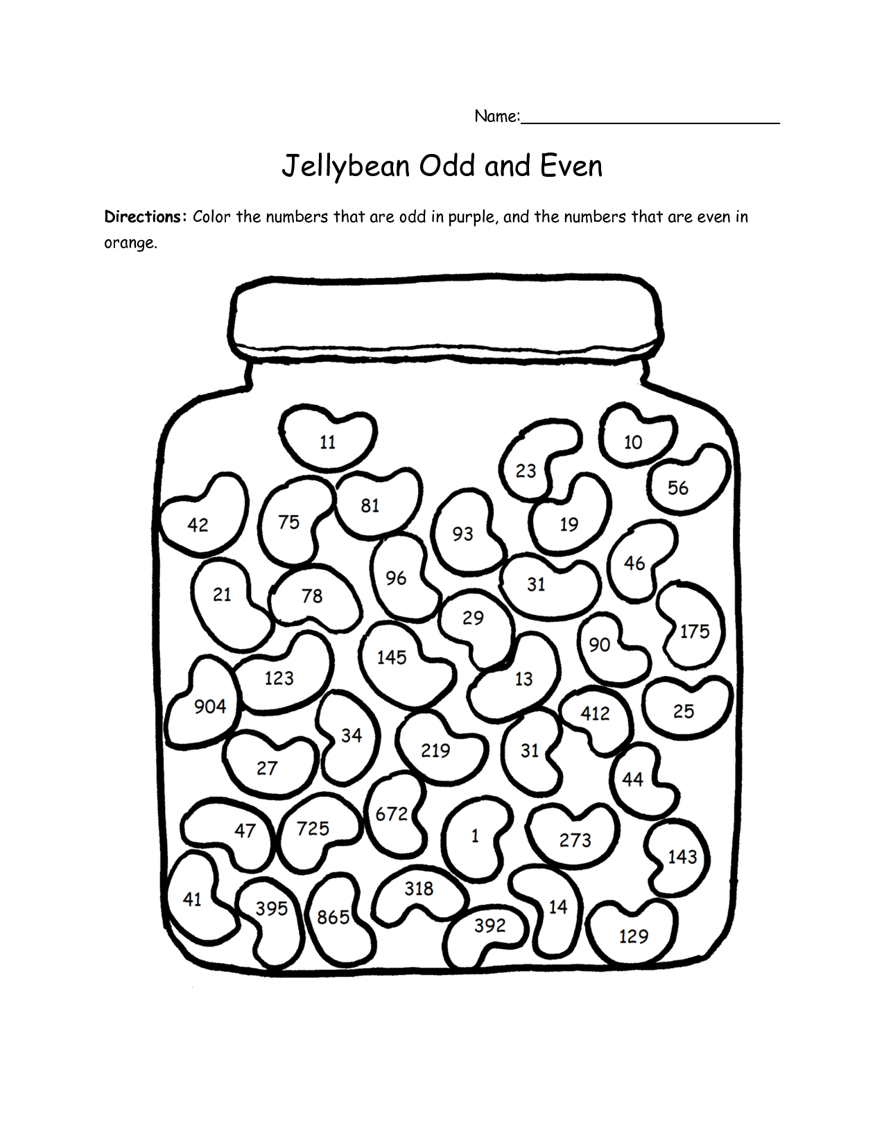 Odd And Even Worksheets | Odd And Even Colouring Pages | Math | Free Printable Odd And Even Worksheets