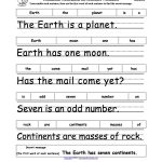 Parts Of Speech: Enchantedlearning | Free Printable Parts Of Speech Worksheets
