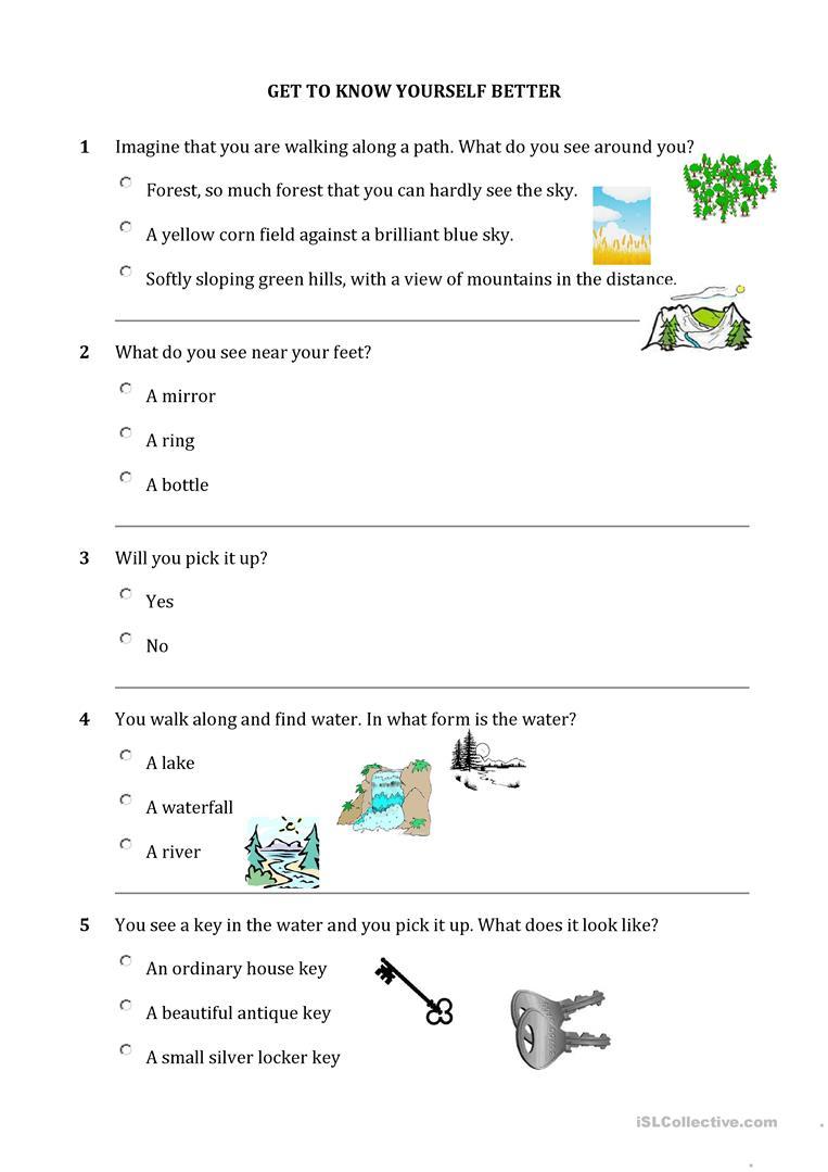 Personality Quiz Worksheet - Free Esl Printable Worksheets Made | Personality Quiz Printable Worksheet