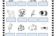 Pets Worksheet – Free Esl Printable Worksheets Madeteachers | Pets Worksheets Printables