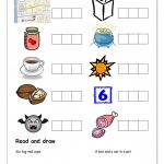 Phonics   Spelling Cvc (2) Worksheet   Free Esl Printable Worksheets | Cvc Worksheet Printable